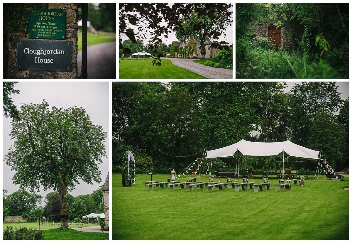 Cloughjordan House Wedding Photographer