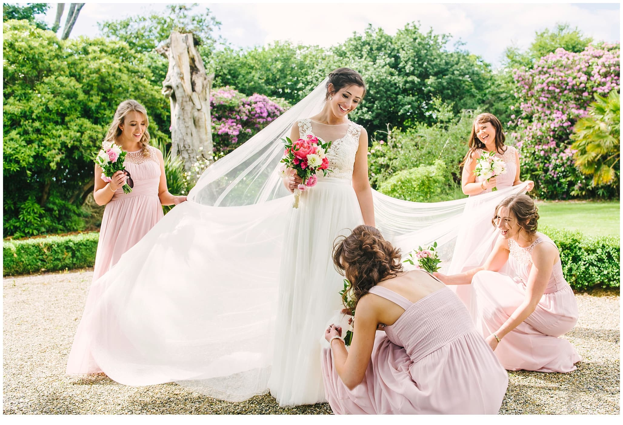 Horetown house wedding photographer